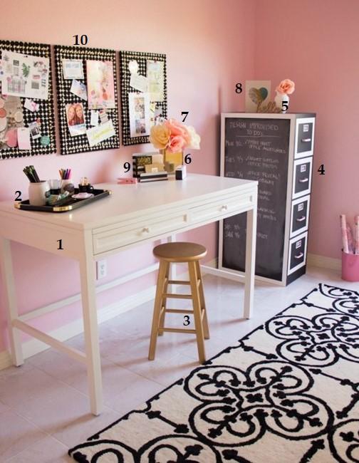 Home office e maquiagem